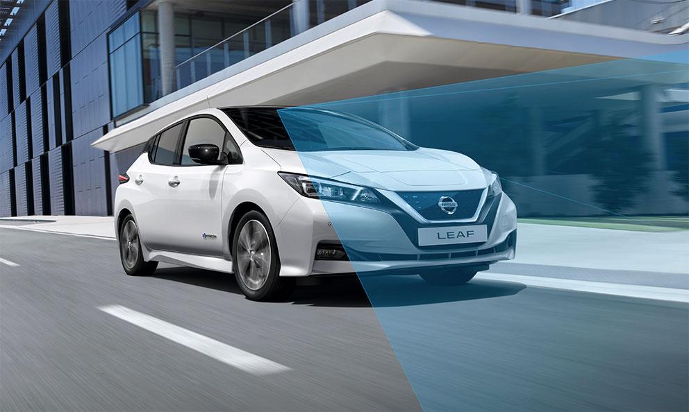 Nissan Qashqai, Nissan LEAF
